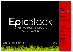 8:1, 10L Black Grass Line Marking Paint