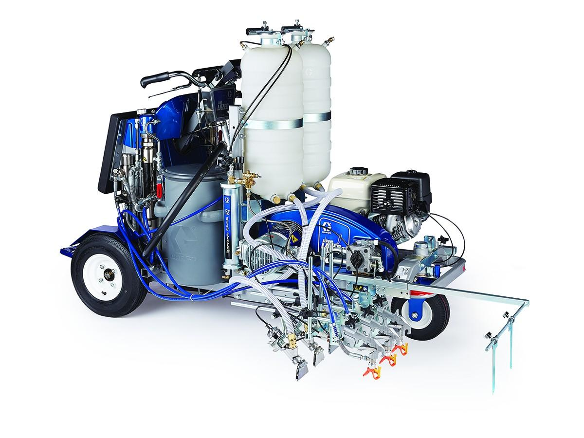 used graco striping machine for sale