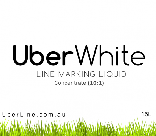 Uberline UberWhite Line Marking Paint