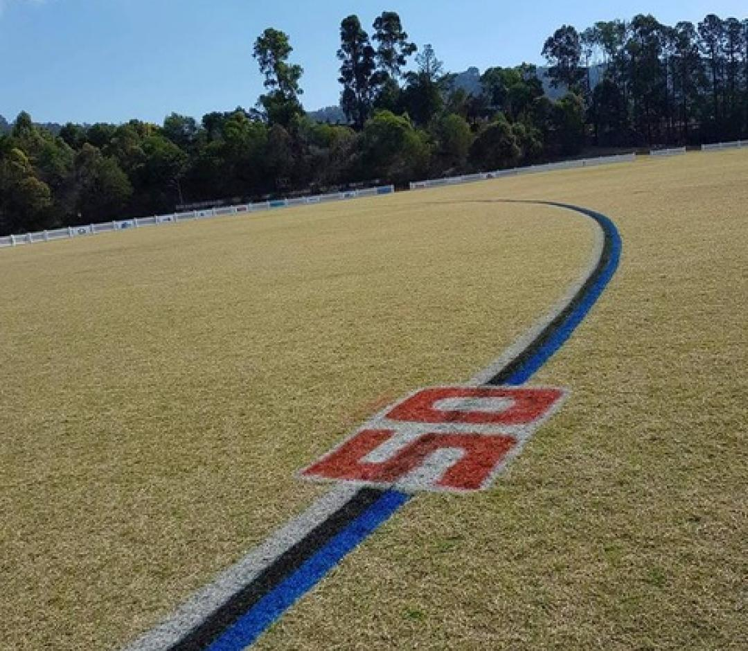 Club Red Field Line Marking Paint